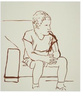 David Hockney, Albert Clark, 1979, 1995