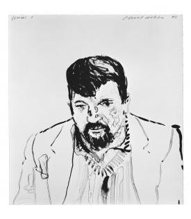 David Hockney, John Hockney, 1981