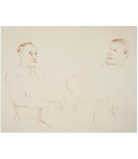 David Hockney, Bill and James II, 1980, 1995