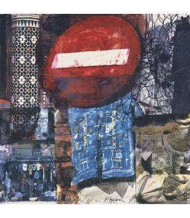 Darryl Pottorf & Robert Rauschenberg, Quattro Mani / Marrakech III, 2000