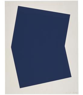 Ellsworth Kelly, Dark Blue, 2001