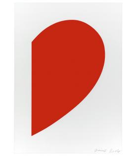Ellsworth Kelly, Small Red Curve, 2012