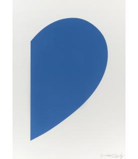 Ellsworth Kelly, Small Blue Curve, 2012