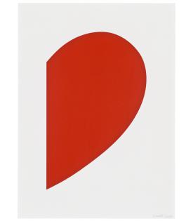 Ellsworth Kelly, Red Curve, 2013