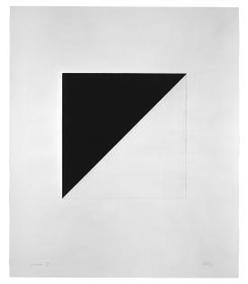 Ellsworth Kelly, Diagonal with Black, 1982