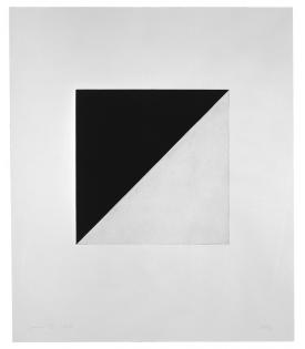 Ellsworth Kelly, Diagonal with Black (State), 1982