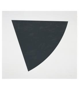 Ellsworth Kelly, Untitled (Gray State II), 1988
