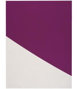 Ellsworth Kelly, Purple Curve, 2000