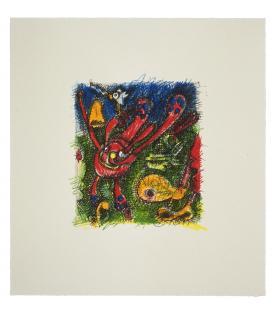 Elizabeth Murray, Red Violet, 1995