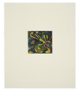 Elizabeth Murray, Falling Leaf, 1995
