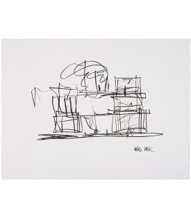 Frank Gehry, Study For New Gehry House, 2004