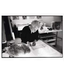 Ann Hamilton (Photo © Sidney B. Felsen)