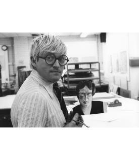 David Hockney (Photo © Sidney B. Felsen)