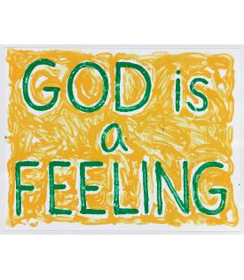 Jonathan Borofsky, God is a Feeling, 2010