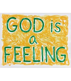 Jonathan Borofsky, God is a Feeling, 2010