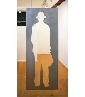 Jonathan Borofsky, Man with a Briefcase, 1982