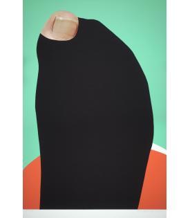 John Baldessari, Foot and Stocking (With Big Toe Exposed): Phil, 2010