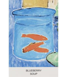 John Baldessari, Eight Soups: Blueberry Soup, 2012