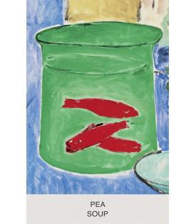 John Baldessari, Eight Soups: Pea Soup, 2012