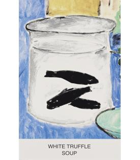 John Baldessari, Eight Soups: White Truffle Soup, 2012