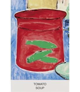 John Baldessari, Eight Soups: Tomato Soup, 2012
