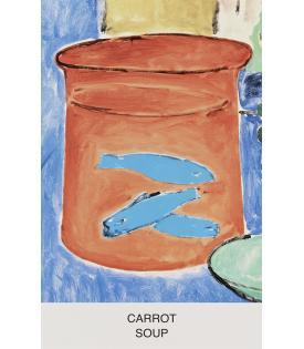 John Baldessari, Eight Soups: Carrot Soup, 2012