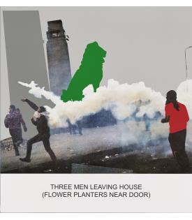 John Baldessari, The News: Three Men Leaving House..., 2014