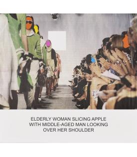 John Baldessari, The News: Elderly Woman Slicing Apple..., 2014