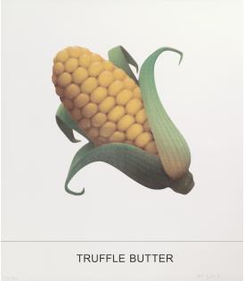 John Baldessari, Truffle Butter, 2018