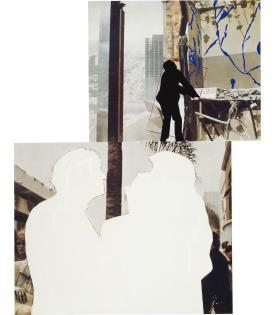 John Baldessari, One and Three Persons (with Two Contexts - One Chaotic), 1994 - 2012, 2019