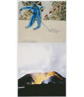 John Baldessari, Jump (with Volcano), 1994 - 2012, 2019