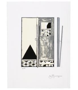 Jasper Johns, Pyre 2, 2004