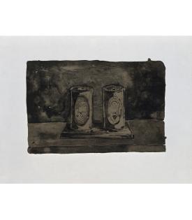 Jasper Johns, Ale Cans, 1975
