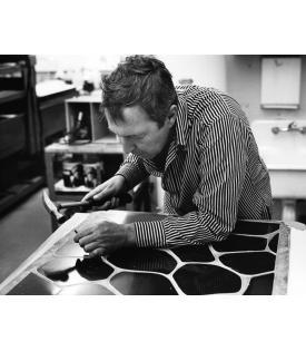 Jasper Johns (Photo © Sidney B. Felsen)