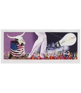 James Rosenquist, The Xenophobic Movie Director or Our Foreign Policy, 2011