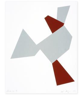 Joel Shapiro, Boat, Bird, Mother and Child (a), 2009