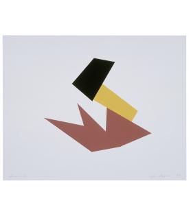 Joel Shapiro, Boat, Bird, Mother and Child (d), 2009