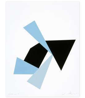Joel Shapiro, Boat, Bird, Mother and Child (f), 2009