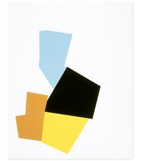 Joel Shapiro, Boat, Bird, Mother and Child (i), 2009