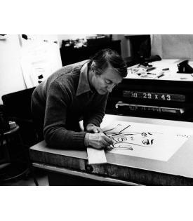 Roy Lichtenstein (Photo © Sidney B. Felsen)