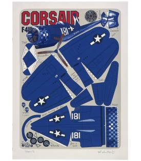 Malcolm Morley, Corsair F4U, 2001