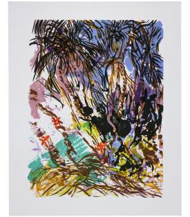 Malcolm Morley, Coconut Grove (State), 1987