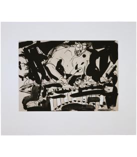 Malcolm Morley, Jazz, 1987