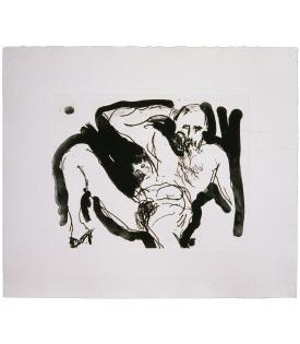 Malcolm Morley, Eve Born Of Adam (State), 1987