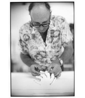 Bruce Nauman (Photo © Sidney B. Felsen)
