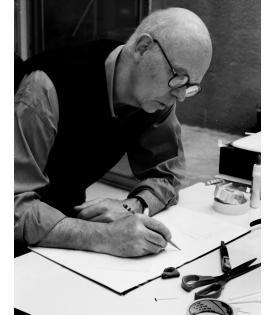 Claes Oldenburg (Photo © Sidney B. Felsen)