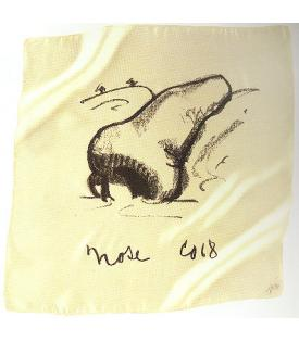 Claes Oldenburg, Nose Handkerchief, 1968
