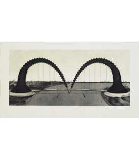 Claes Oldenburg, Screwarch Bridge (State II), 1980