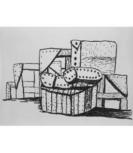 Philip Guston, Studio Forms, 1980
