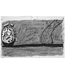 Philip Guston, Scene, 1981